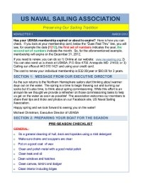 Newsletter March 2012